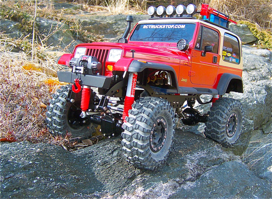 Real Monster Truck For Sale >> RC4WD Trail Finder Jeep Edition Review - RC TRUCK STOP