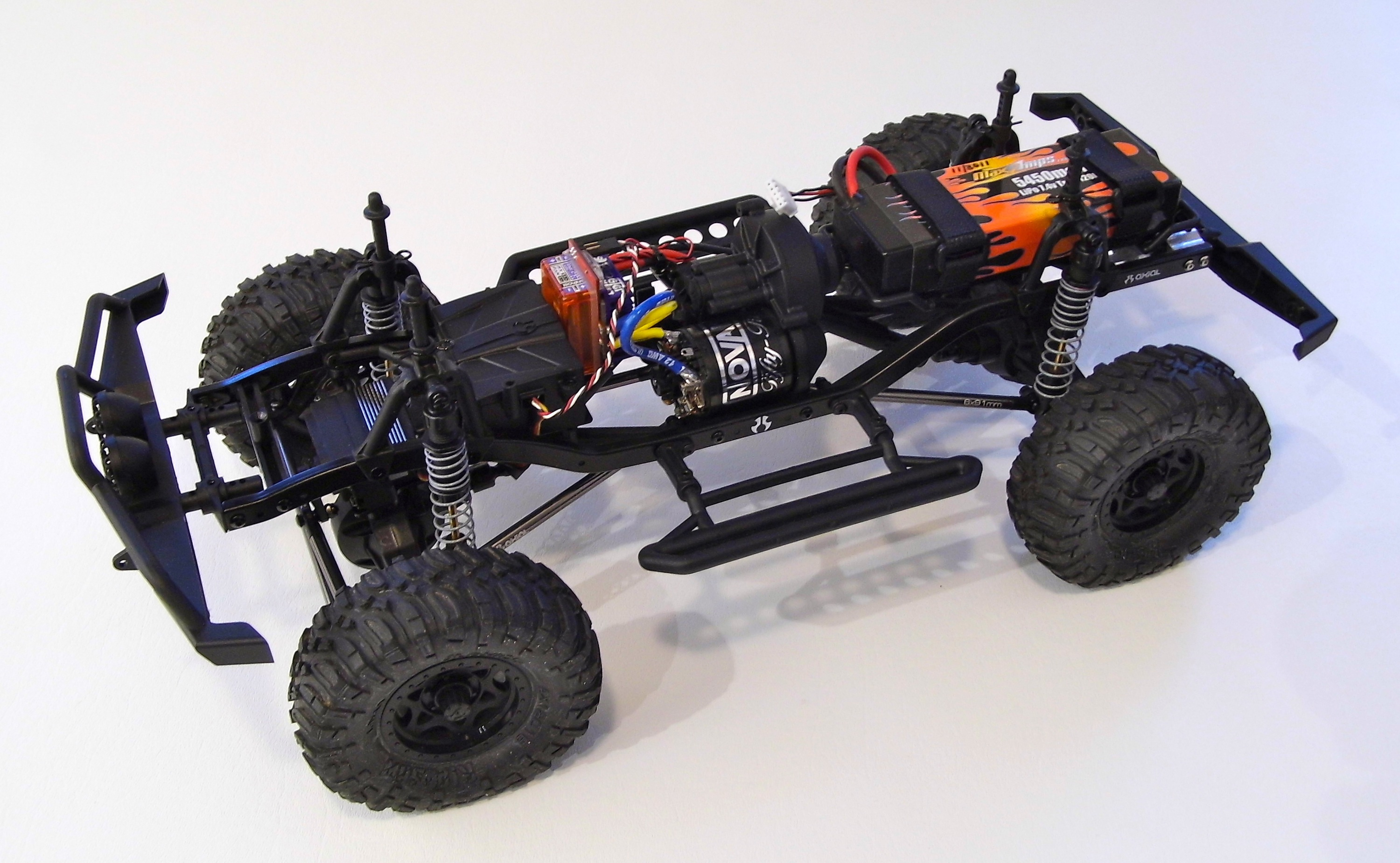 chassis1 axial scx10 dingo kit review rc truck stop axial scx10 wiring diagram at reclaimingppi.co