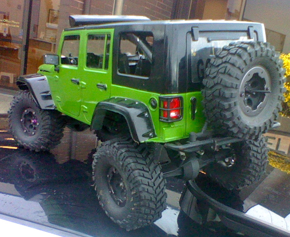 Truck Of The Week 6 3 2012 Axial Based Custom Jeep Rc