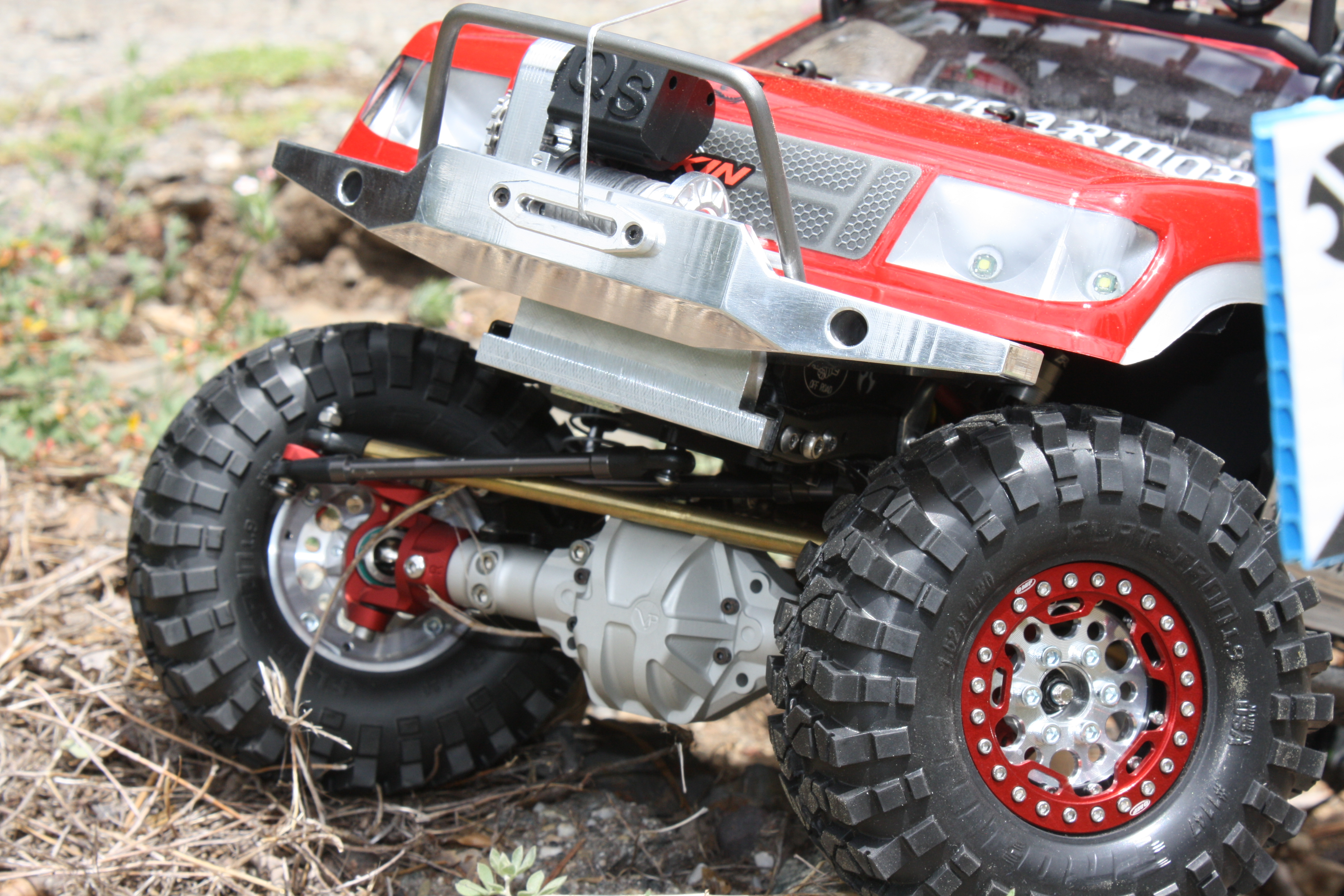 Axial R C : Truck of the week axial scx rc stop
