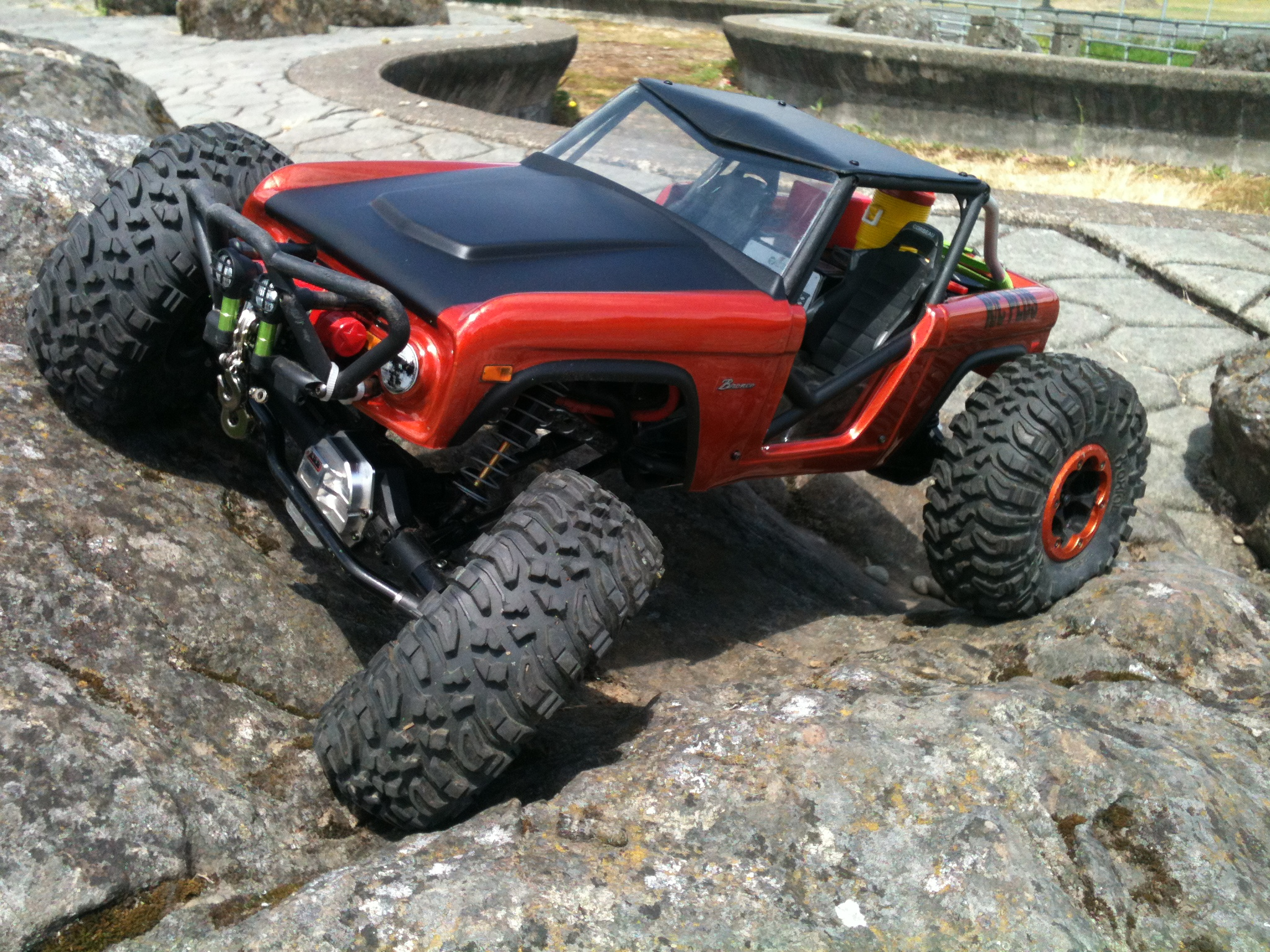Axial R C : Truck of the week  axial wraith rc stop