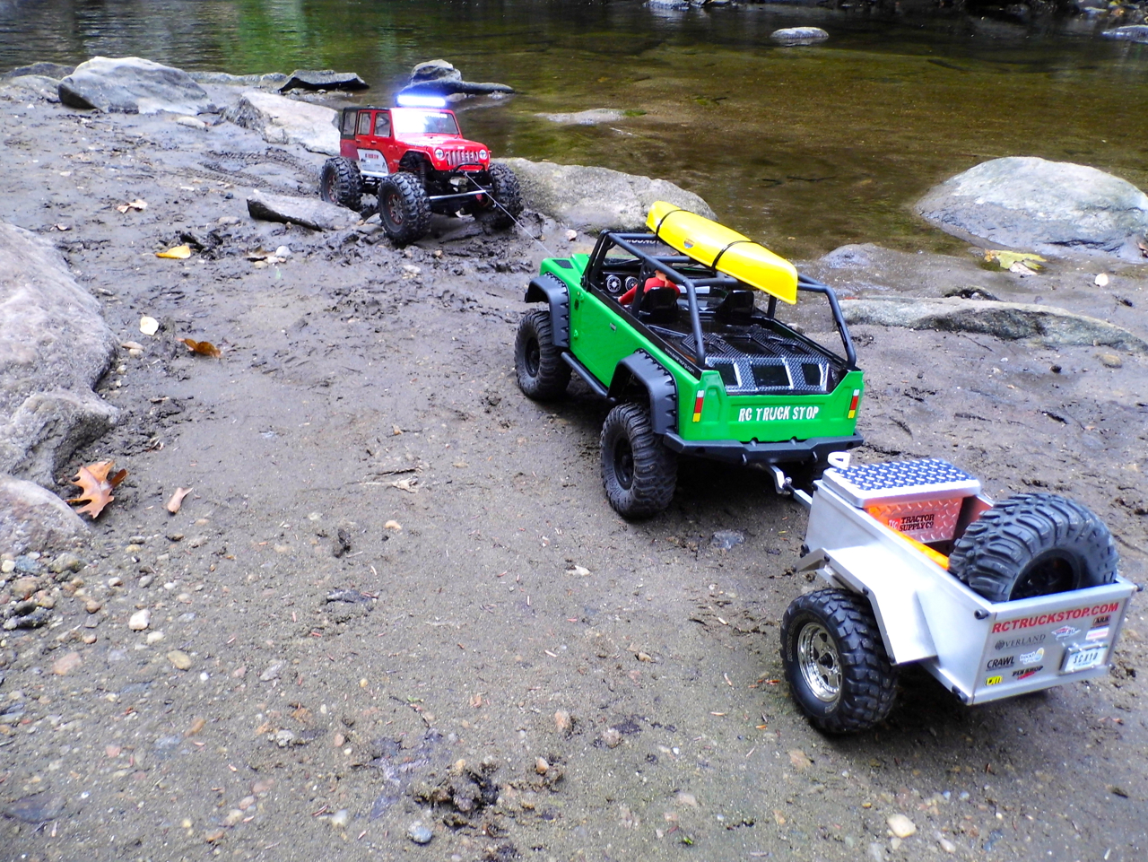 Rescue Your Stuck Scaler Rc Truck Stop