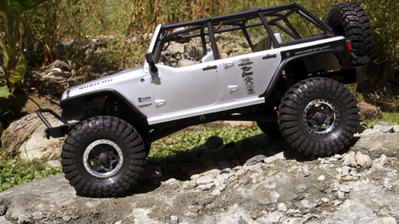 Axial 2012 Jeep Wrangler Unlimited Rubicon Axial Jeep