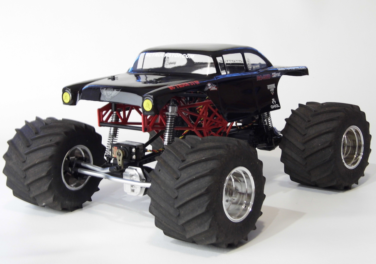 giant rc semi trucks with Bodyon3 on Woodtoys likewise Mud Bogging 6x6 Tracked Semi Truck as well Maximum Overdrive as well Fordlogo likewise 1081135 pioneering Monster Truck Bigfoot Goes Electric Video.