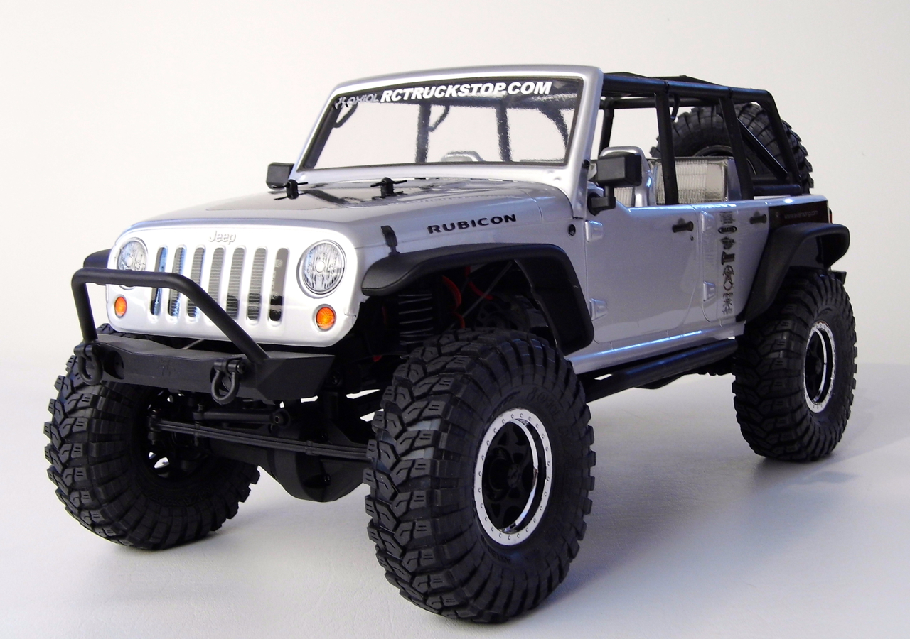 axial 2012 jeep wrangler unlimited rubicon scx10 rtr review rc truck stop. Black Bedroom Furniture Sets. Home Design Ideas