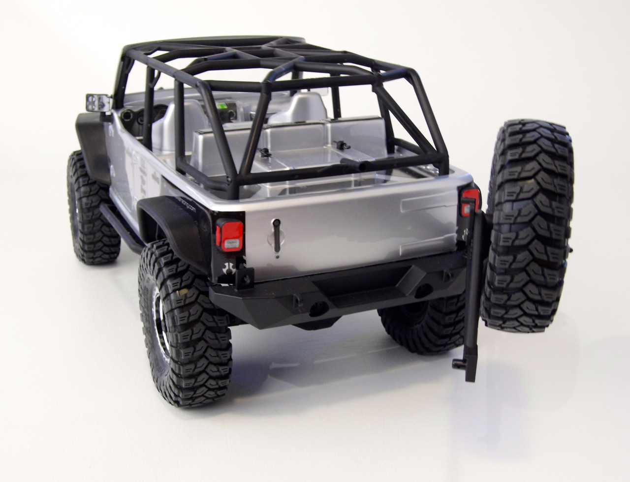 Axial 2012 Jeep Wrangler Unlimited Rubicon Scx10 Rtr