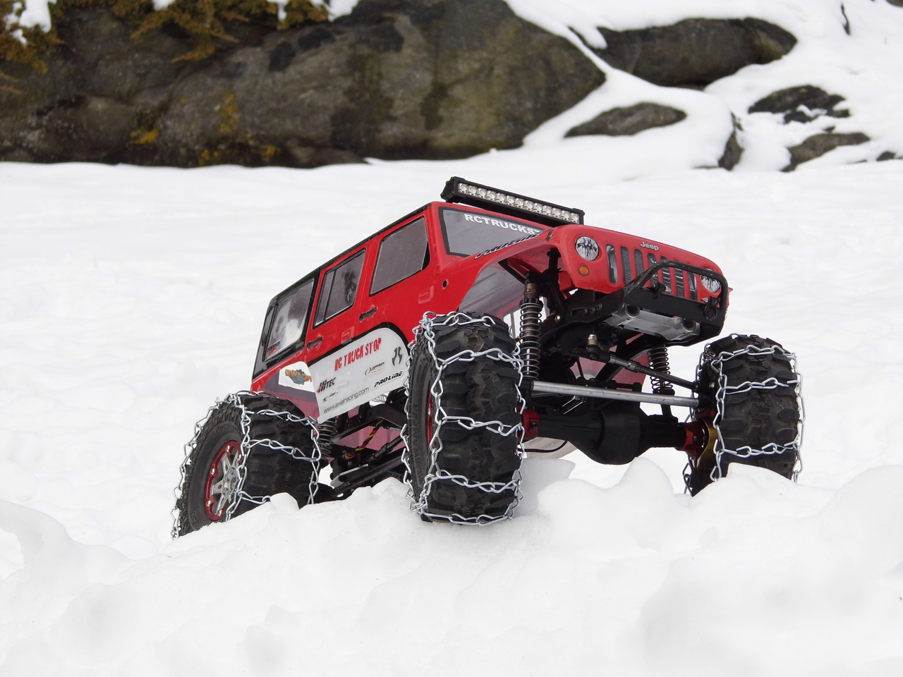 How To Make Rc Snow Chains Rc Truck Stop