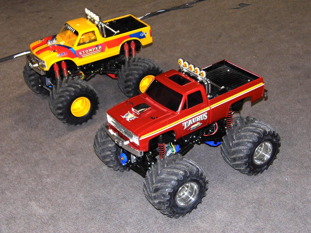 RC Monster Truck Racing -- Alive and Well