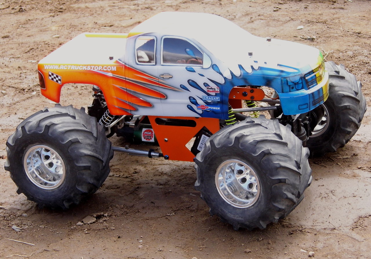 monster racing truck