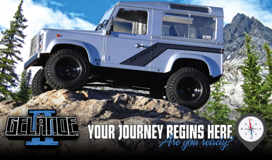 Rc4wd Gelande Ii Truck Kit With Defender D90 Body Set Rc