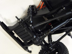 gelande rear suspension