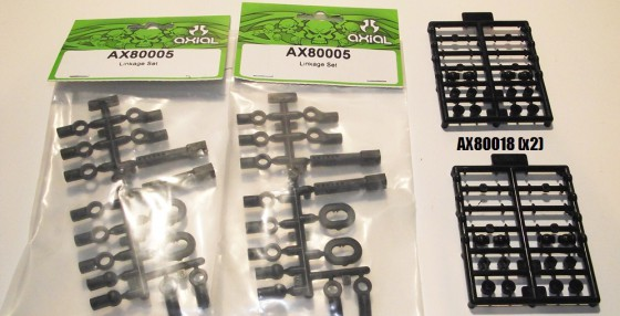 axial parts needed