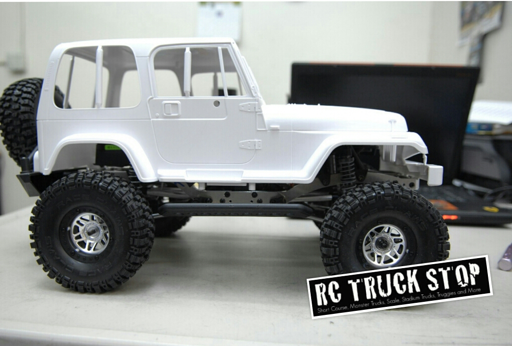 STRC Axial SCX10 Short Wheel Base Chassis Conversion - RC TRUCK STOP