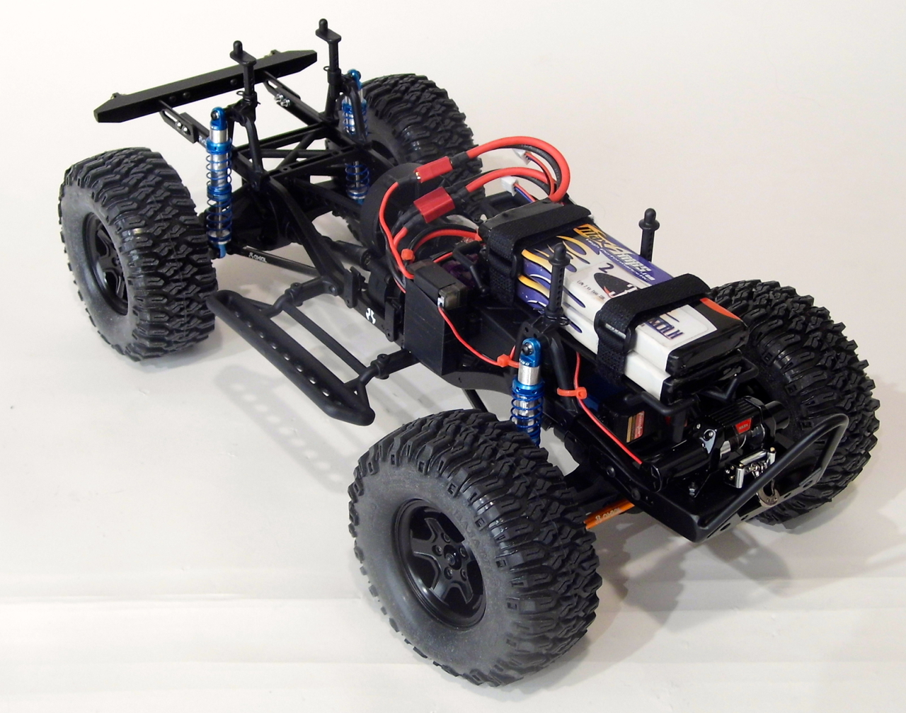 Axial R C : Rusty s off road rc wd axial jeep project truck stop