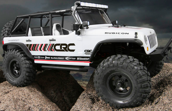 Axial Racing Scx10 2012 Jeep Wrangler Unlimited C R