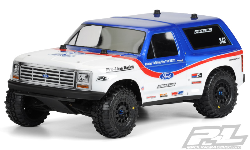 Pro-Line 1981 Ford Bronco SC Body Official Release - RC TRUCK STOP