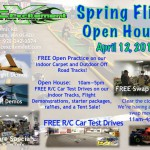 UPCOMING EVENT  RC Excitement Spring Fling Open House April 12, 2014