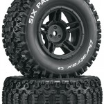 Duratrax Picket and Six Pack Short Course Tires