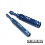 STRC CNC Aluminum 5.5mm/7.0mm Nut Drivers & 17mm Wrench