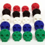 Fullforce RC Traxxas X-Maxx Skull Body Washers